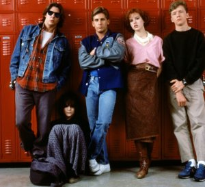 The Breakfast Club- Another Molly Ringwald/John Hughes classic.  Still a great exploration of how kids express their power in various social cliques.